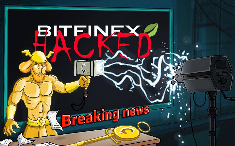 هک شدن bitfinex