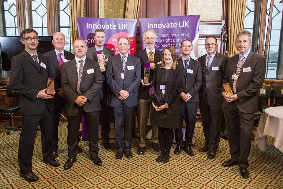 برندگان جایزه Innovate UK