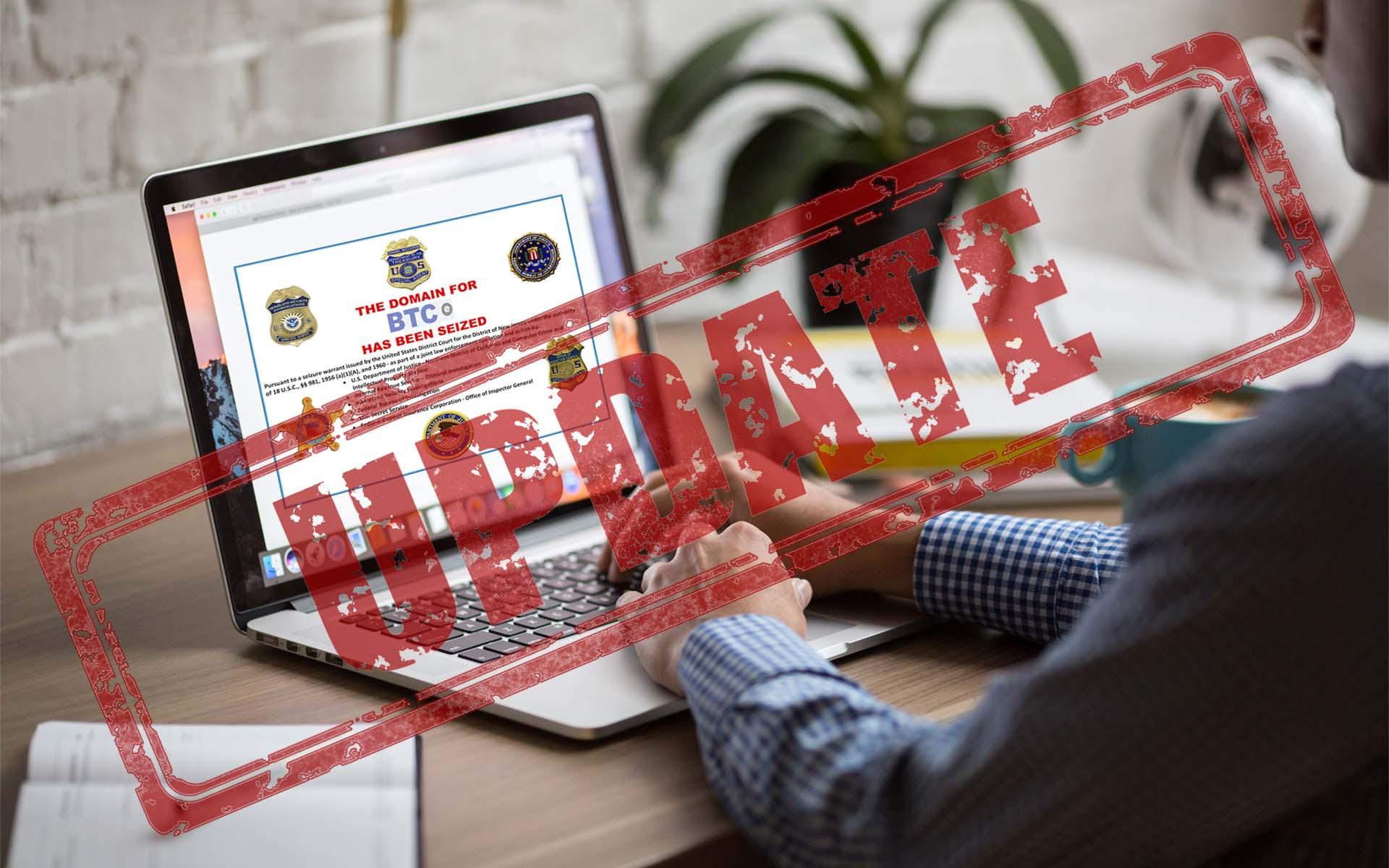 صرافی BTC-e وجوه به سرقت رفته کاربران را با توکن های BTCT پرداخت می کند