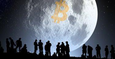بیت کوین روی ماه