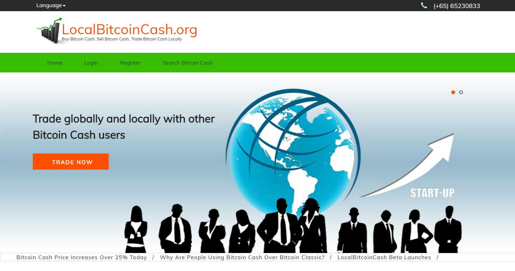 آشنایی با صرافی جدید بیت کوین کش نظیر به نظیر (P2P) به نام Localbitcoincash.org