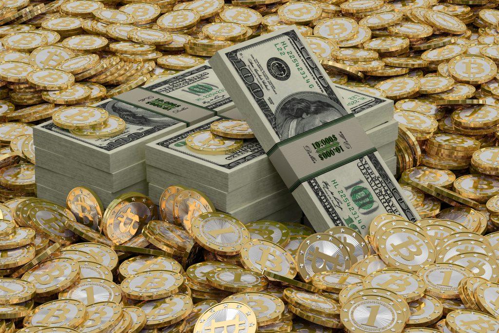 مقایسه طلا، دلار و بیت کوین
