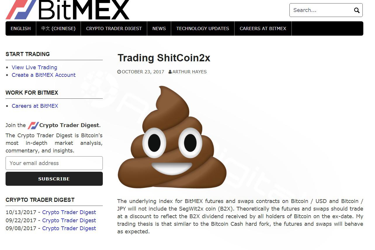 توصیه صرافی بیتمِکس به معامله گران: برای سود بیشتر هر چه سریع تر Shitcoin2Xها را بفروشید!