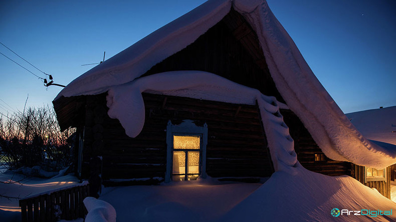 مردمان سیبری از تجهیزات استخراج ارزهای رمزگذاری شده برای گرم کردن خانه های خود استفاده می کنند