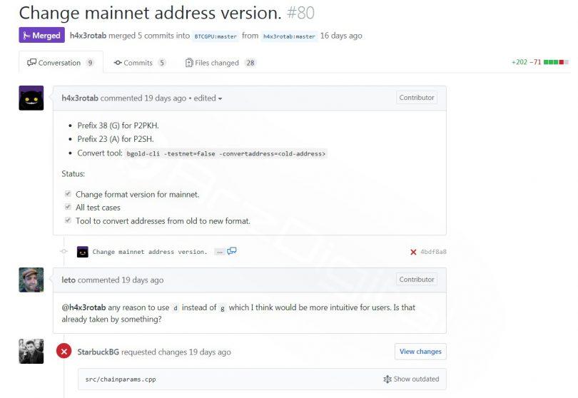 برنامه بیت کوین گُلد برای راه اندازی شبکه در روز 22 آبان (12نوامبر)