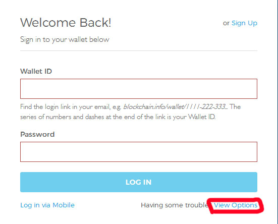پیام کوتاه های ارسالی از سایت  blockchain.info در اپراتورهای تلفن همراه کشورمان دریافت نمیشود