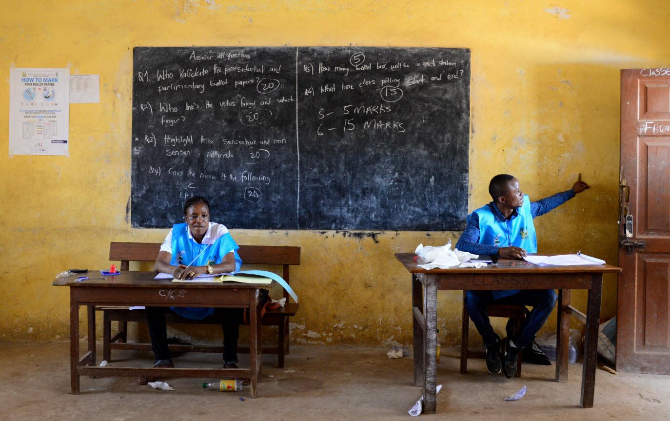 جمهوری سیرالئون: برای اولین بار از بلاک چین در انتخابات استفاده شد!