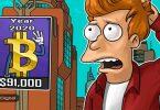 پیشبینی تام لی: قیمت بیت کوین تا مارس 2020 به 91,000 دلار خواهد رسید!