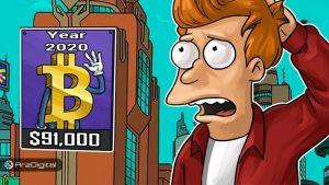 پیشبینی تام لی: قیمت بیت کوین تا پیش از مارس ۲۰۲۰ به ۹۱,۰۰۰ دلار خواهد رسید!
