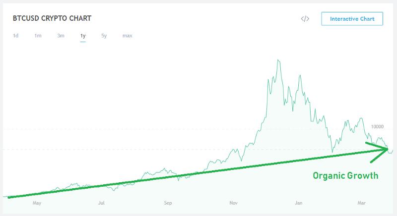 چه زمانی دوباره بیت کوین رشد میکند؟
