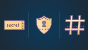 کلمات عبور شما چگونه در شبکه امن باقی می ماند؟