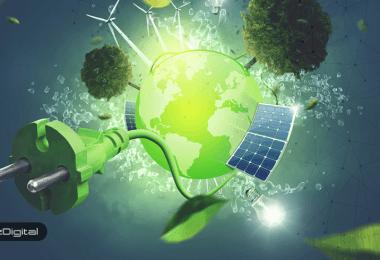 زمینی سبزتر با بلاک چین!