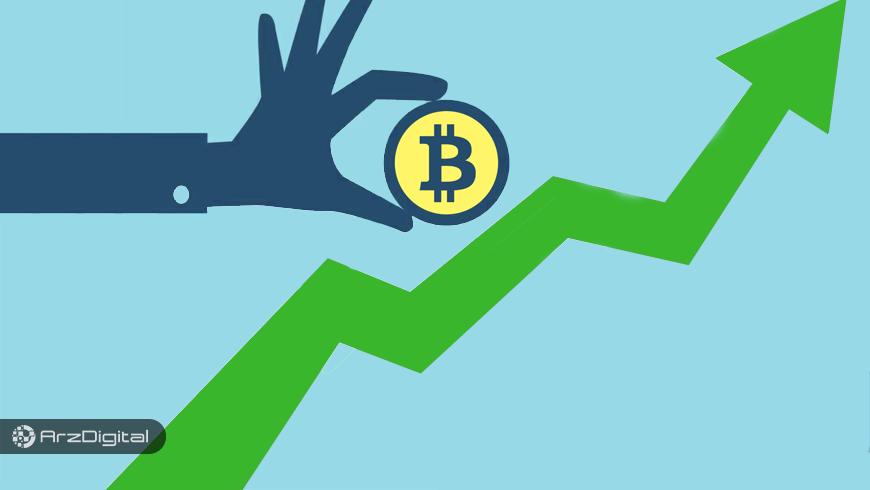 بیت کوین به بالاترین قیمت ۲ ماه اخیرش دست یافت