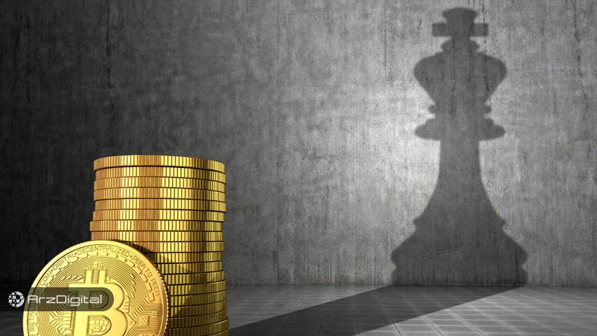 چرا سهم بیت کوین از بازار ارزهای دیجیتال دوباره کاهش یافت؟