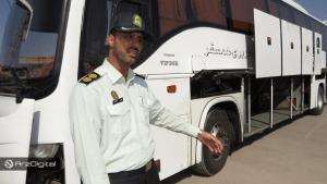 کشف دستگاههای استخراج در میان اجناس قاچاق اتوبوسی در زنجان