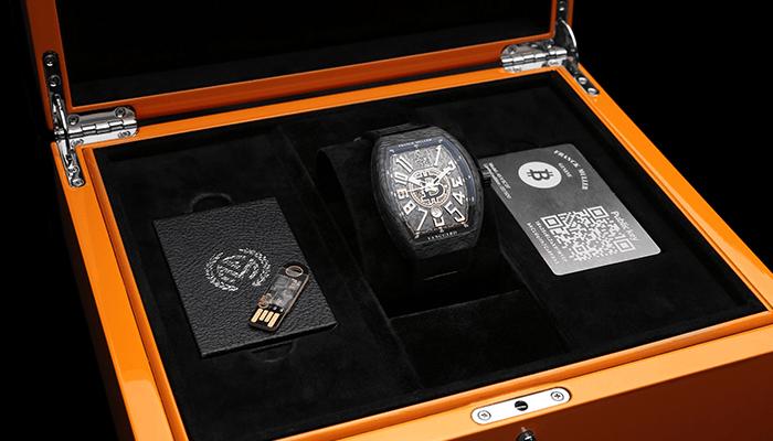 غول ساعتسازی سوئیسی ساعت مجهز به کیف پول سخت افزاری بیت کوین میسازد + عکس