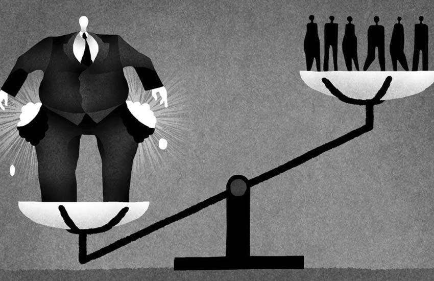 چالش های اقتصادی - نابرابری در توزیع ثروت
