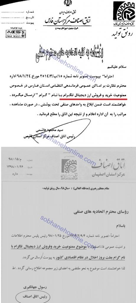 تذکر ناجا به اصناف درباره ممنوعیت خرید و فروش ارز دیجیتال تلگرام