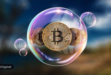 حباب بیت کوین در حال تشکیل شدن است