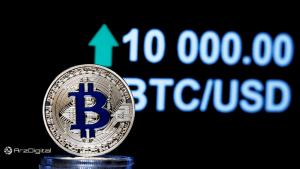 بیت کوین نزدیکتر از همیشه به مقاومت 10,000 دلار