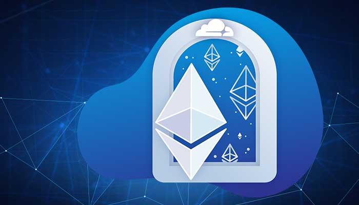 شرکت تامینکننده امنیت اینترنت کلاودفلر درگاه اتریوم را به خدمات خود افزود