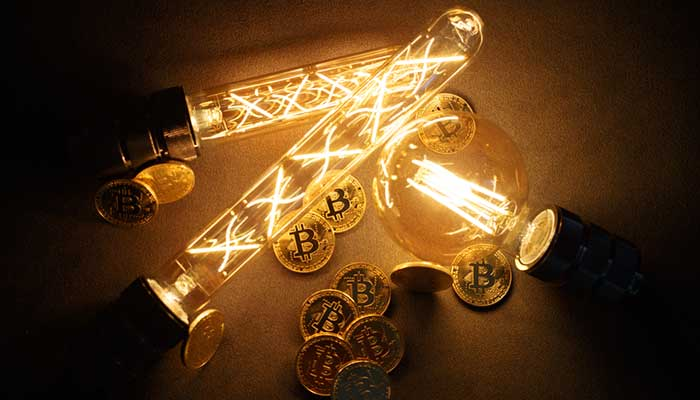 Electricity for Bitcon