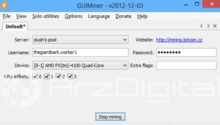 نرمافزار GUIminer