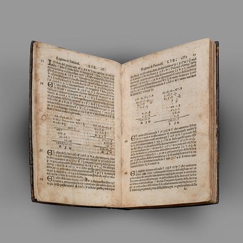 کتاب Summa de Arithmetica از لوکا پاچیولی
