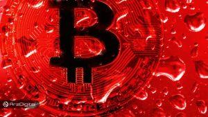 قیمت بیت کوین به ۱۰,۰۰۰ دلار سقوط کرد
