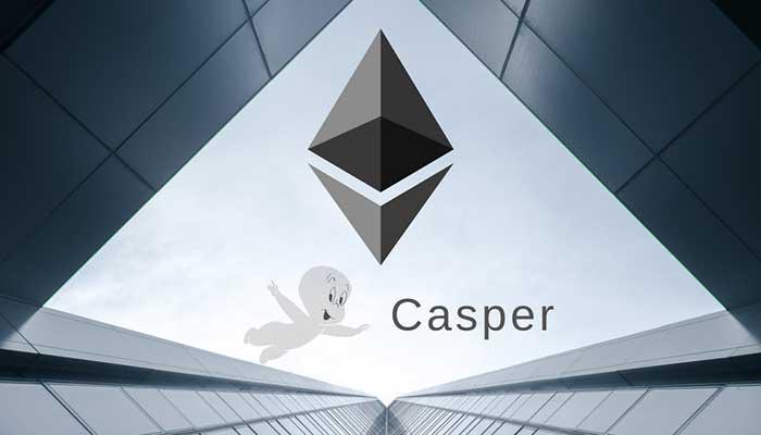 آینده اتریوم . انتقال شبکه اتریوم از اثبات کار به اثبات سهام با استفاده از پروژه کسپر انجام میشود.