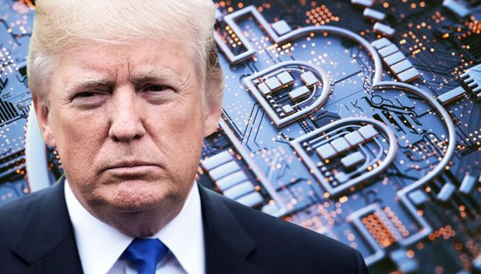 ترامپ بیت کوین و ارزهای دیجیتال را به بیثبات بودن و بیارزش بودن متهم کرد