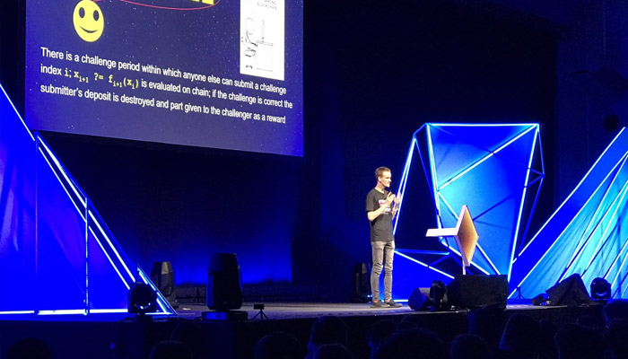 توسعهدهندگان اتریوم هر ساله در همایشهای دِوکون (Devcon) گرد هم میآیند.