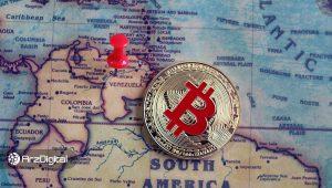 حجم معاملات بیت کوین در ونزوئلا و آرژانتین رکورد زد!