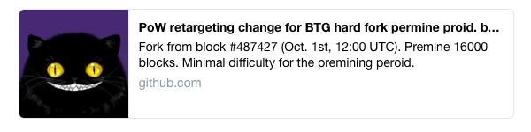 به نظر می رسد بیت کوین گلد قصد دارد 16000 بلاک را از پیش استخراج کند
