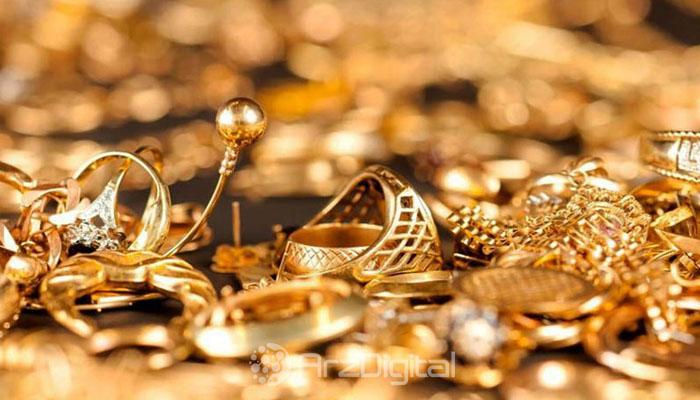 جواهرات ساخته شده با طلای 18 عیار