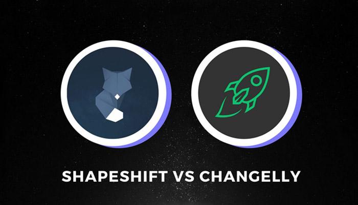 تبدیل ارزهای دیجیتال در کوینومی با استفاده از دو صرافی چنجلی و شیپ شیفت انجام میشود