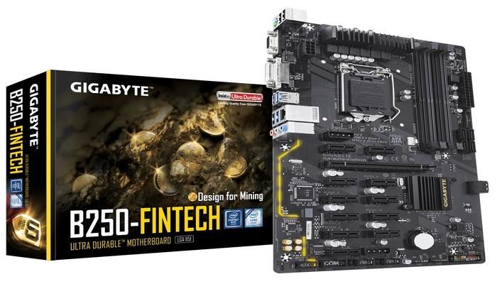 GIGABYTE B250-FinTech