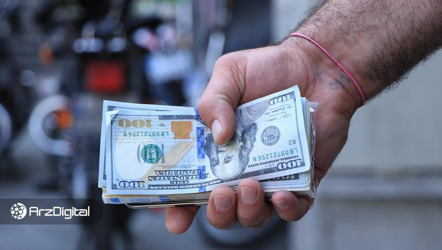 قیمت دلار از مرز ۱۴۰۰۰ تومان عبور کرد؛ اختلاف ۴۵۰ تومانی بین نرخ رسمی و آزاد