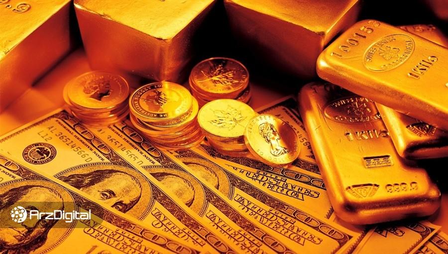 جهش بیت کوین همزمان با رشد قیمت جهانی طلا؛ دلار همچنان در کانال ۱۴ هزار تومان