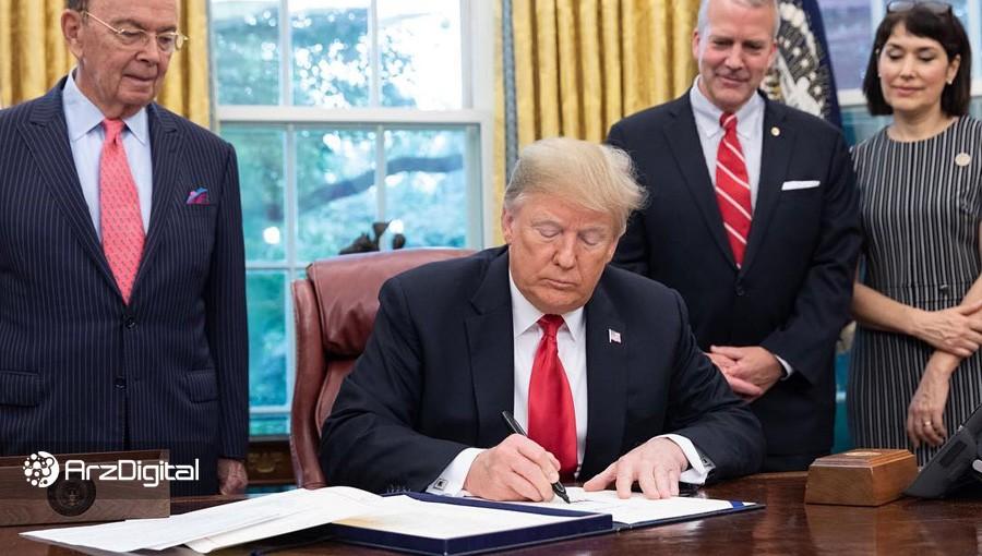 ترامپ طرح تزریق ۲ تریلیون دلار پول برای مقابله با اثرات کرونا را امضا کرد