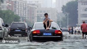 آغاز فصل بارانی در چین؛ این بار ماینرهای بیت کوین سرمایهگذاری نمیکنند