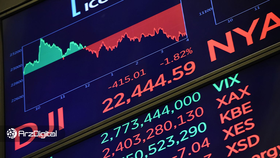 وضعیت بازارها: سهامها دوباره افت کردند؛ بیت کوین روی ۸,۸۰۰ باقی ماند