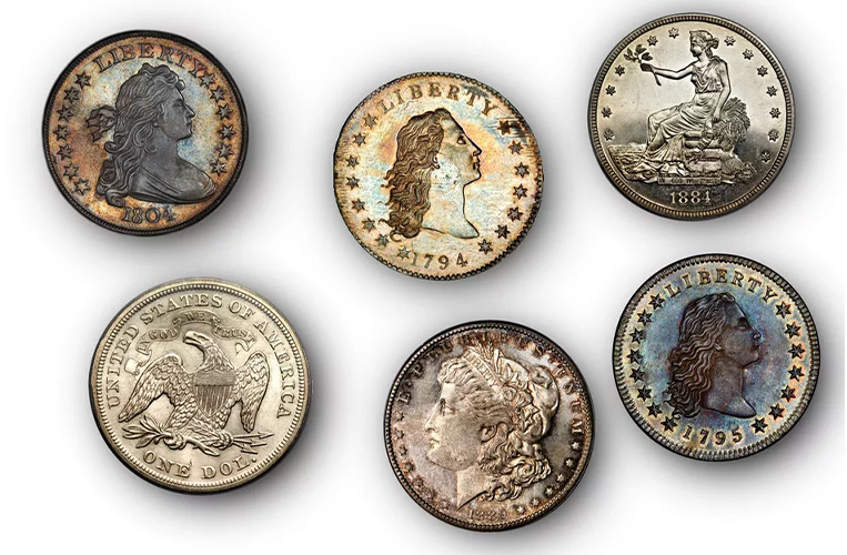 گران قیمت ترین سکه های دلار