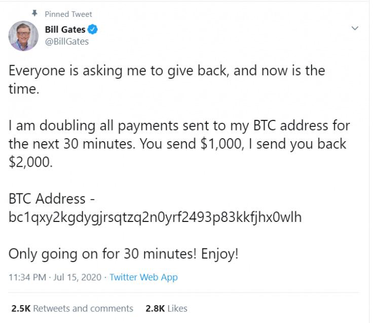 فوری/ هک شدن حساب توییتر مدیرعامل بایننس، ایلان ماسک، بیل گیتس و دهها شخص دیگر با هدف کلاهبرداری بیت کوین