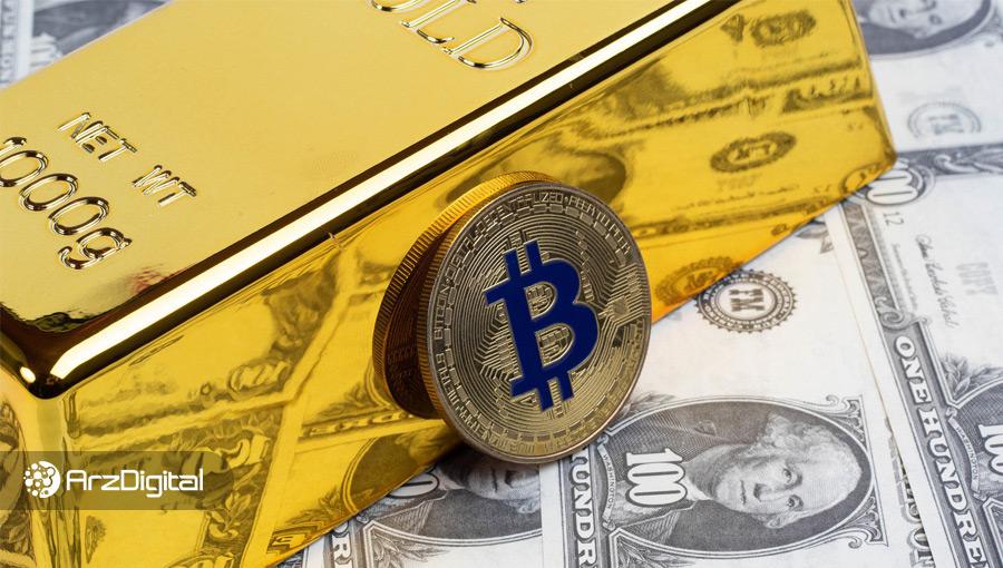قیمت طلا رکورد ۹ ساله خود را شکست؛ بیت کوین در انتظار عبور از مقاومت