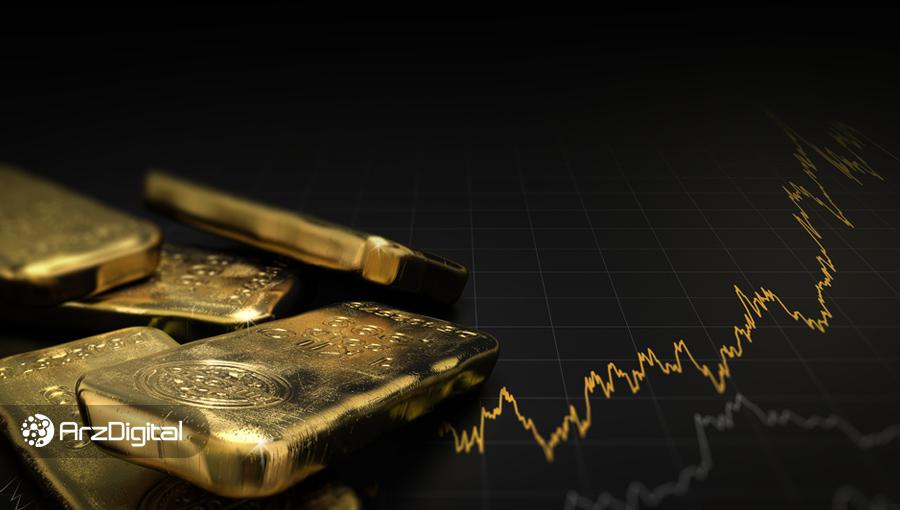 رکوردشکنی قیمت طلا همزمان با رشد قیمت بیت کوین