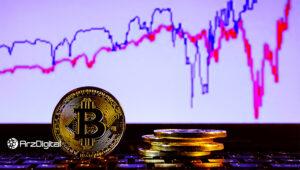 سقوط همزمان قیمت بیت کوین و طلا