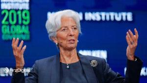 رئیس بانک مرکزی اروپا: یوروی دیجیتال میتواند جایگزینی برای ارزهای غیرمتمرکز باشد