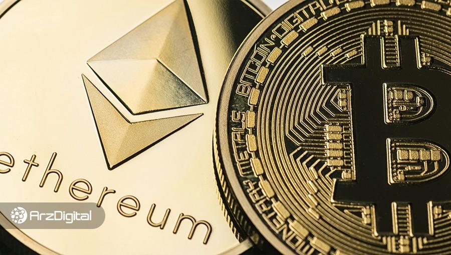قیمت بیت کوین و اتریوم در پی اخبار مثبت دوباره افزایش یافت