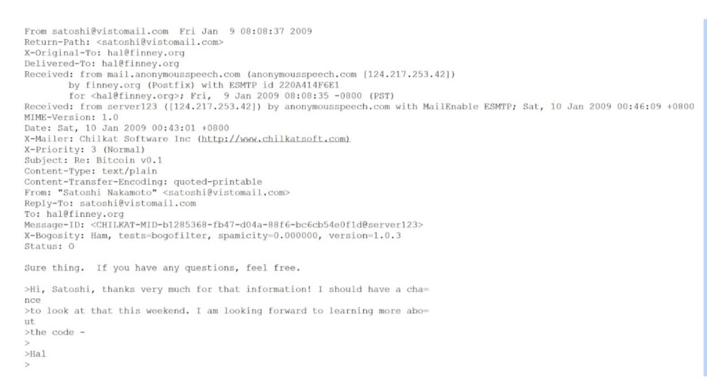ایمیلهای تازه منتشرشده در مورد خالق بیت کوین؛ معمای جدید ساتوشی ناکاموتو